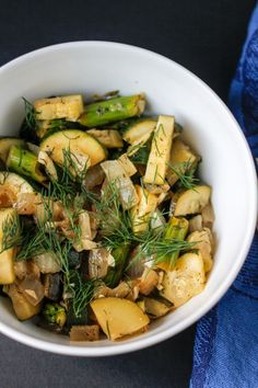 Simple asparagus veggie bowl (AIP/Vegan)