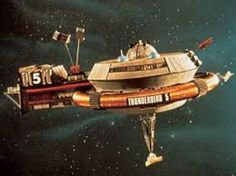Thunderbird Five - Space station in geostationary Earth orbit monitoring broadcasts around the globe for transmissions calling for help; also manages communications within International Rescue Joe 90, Thunderbirds Are Go, Sci Fi Tv, Sci Fy, Classic Sci Fi, Classic Films, Sci Fi Models, Nostalgia, Old Tv Shows