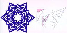 Снежинки из бумаги. МК.. Обсуждение на LiveInternet - Российский Сервис Онлайн-Дневников