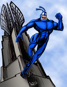 The Tick Vs the Uncommon Cold - Google Search Best Cartoons Ever, Cool Cartoons, Marvel Characters, Cartoon Characters, Comic Art, Comic Books, Saturday Morning Cartoons, Crusaders, Ticks
