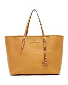 I love my new tote! V13HY MICHAEL Michael Kors  Jet Set Medium Travel Tote. in mustard. obviously.