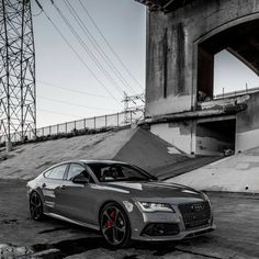 Although we git kicked out of this location in 2 mins before we started shoot I plan on murdering this soon. Might just be my next car Audi Sport, Sport Cars, Race Cars, Audi Rs7 Sportback, Nardo Grey, Sports Sedan, Audi Tt, Transportation Design, Amazing Cars