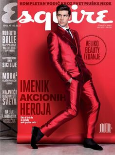 Roberto Bolle x Esquire