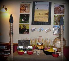 Safari Birthday Party Ideas | Photo 15 of 29 | Catch My Party