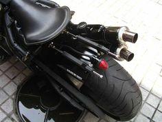 Yamaha Warrior by Matte Black Motorcycles | Korea