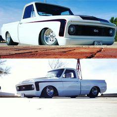 67 72 Chevy Truck, Classic Chevy Trucks, Chevy C10, Chevy Pickups, Chevrolet Trucks, Bagged Trucks, Lowered Trucks, C10 Trucks, Pickup Trucks