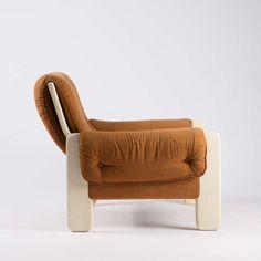 Titiana Ammannati & Giampiero Vitelli; 'Sporting' Lounge Chair for Rossi di Albizzate, 1966.