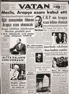 June 5665 p. to remove the Turkish ad and read Arabic. Newspaper Headlines, Old Newspaper, Turkey History, Newspaper Archives, Love Photography, Historical Photos, Karma, How To Remove, Reading
