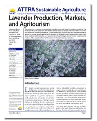 Interested in growing #lavender? Don't miss our newly updated publication, Lavender Production, Markets, and Agritourism!