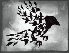 #pagan #spiritanimal #raven #crow