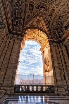Exploring the massive halls inside and outside of Vatican City. - Vatican City, Italy - Photo from #treyratcliff Trey Ratcliff at http://www.StuckInCustoms.com