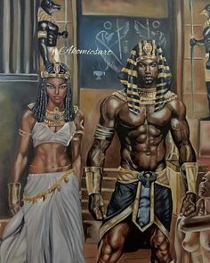 Black is Beautiful! It's nothing you can do about our Blackness! Afro Punk, Black King And Queen, King Queen, African Royalty, Black Art Pictures, Black History Facts, Black Artwork, Black Girl Art, Afro Art