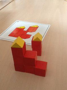 Domein: meetkunde                                        Onderwerp: construeren doel:nabouwen vanaf een tekening.