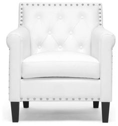Thalassa Modern Armchair transitional-armchairs-and-accent-chairs Houzz
