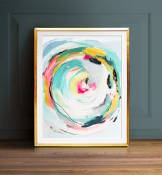 Abstract art Wall art PRINTABLE art Colorful art by TheCrownPrints