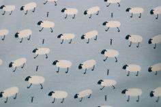 Stenzo16 1607-09 Tricot schaapjes lichtblauw
