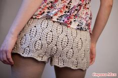 Shorts with pattern