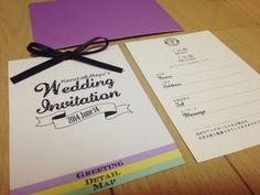 《完成》1.5次会招待状 の画像|MAYU'S Hawaii Wedding & The Big Day