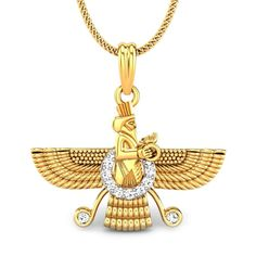 THE ZOROASTRIAN PENDANT