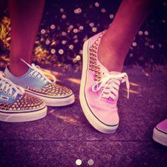 #VANS #blue/pink
