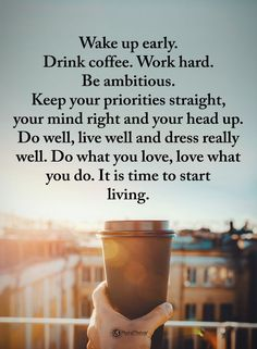 ~ it's time to start living ~