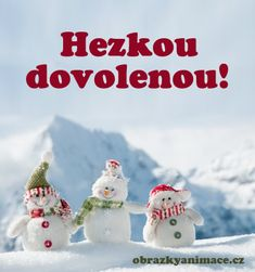 Hezkou dovolenou 5 Christmas Ornaments, Holiday Decor, Appliques, Facebook, Riveting, Christmas Jewelry, Christmas Decorations, Christmas Decor, Sconces
