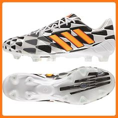 watch 667ac ab8f6 Adidas Nitrocharge 1.0 FG (World Cup) Football Boots - Adult - White Neon