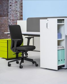 A chair to match your style. A chair that adapts to you. That's to-sync work mesh! © hali GmbH Coworking Space, Easy, Chair, Design, Furniture, Home Decor, Modern Office Spaces, Swivel Chair, Decoration Home