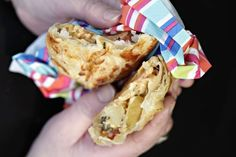 Delicious Cheese, Onion and Potato Wrapped up in a Pasty
