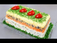 Paleo Recipes, Crockpot Recipes, Cooking Recipes, Salad Cake, Crudite, Russian Recipes, Buffet, Cheesecake, Food And Drink