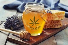 Are you're looking for a convenient, discreet and delicious way to take cannabis? You will be impressed by the effectiveness and health benefits of cannabis honey. Marijuana Recipes, Cannabis Edibles, Cannabis Plant, Cannabis Oil, Medical Cannabis, Edibles Online, Honey Recipes, Perfect Food, Meals For One