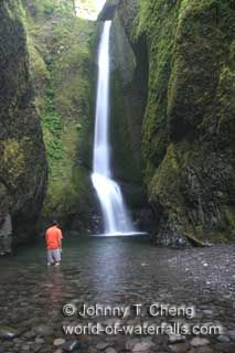 Lower Oneonta Falls Columbia River Gorge