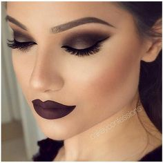 """Maquiagens on Instagram: """"Catsuit da Melt Cosmetics + Trust Issues da... ❤ liked on Polyvore featuring beauty products, makeup and amei"""