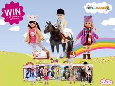 €120 worth of Lottie Dolls - http://www.competitions.ie/competition/e120-worth-lottie-dolls/