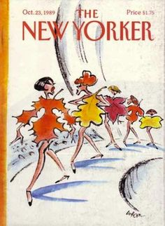 Autumn - The New Yorker cover in 1989