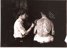 "Percy Waters, ""Just a Good Tattooer.""  Nuff Ced!"