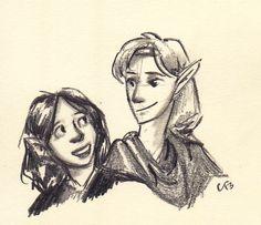 Eldest Cousins by FaerieCarousel Maedhros and Fingon
