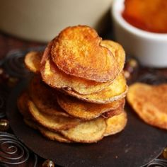 ... with these healthy baked potato chips with a kick of smoked paprika