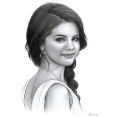 Dibujo de Selena Gómez