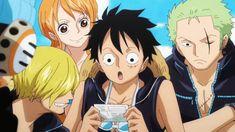 One Piece 'Film Gold' ... Hey look! ... It's the original crew!!