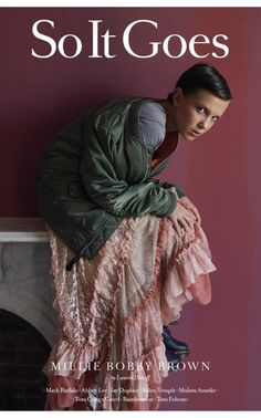 Should 12-year-old Stranger Things star Millie Bobby Brown really be modelling £4,000 dresses?