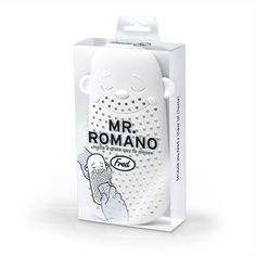 Mr. Romano Cheese Grater by Fred & Friends