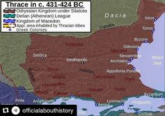346a86c8c #Repost @officialabouthistory (@get_repost) The Odrysian kingdom in its  maximum extent under