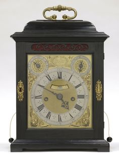 Table Clock and Case  Made by Thomas Tompion, English (active London), 1639 - 1713