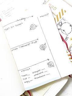 Decorate bullet journal