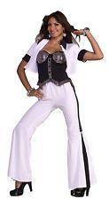 Disco Fever 60's 70's Diva Costume Adult Medium/Large