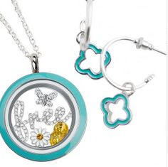 Origami Owl loves the color Aqua! #becolorful #befree