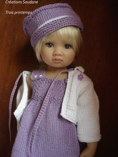 28. English and French PDF KNITTING PATTERN (2 are available) Kidzncats american girl dolls 18 . $10.00, via Etsy.