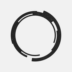 A new geometric design every day. Looks like a Techno Enso Zen Circle. Tatoo Geek, Tatoo Art, Geometric Art, Geometric Designs, Logo Design Inspiration, Icon Design, Oroboros Tattoo, Logo Esport, Logo Luxury