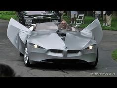 VIDEO: The BMW Gina. With its collection of rugged yet sleek lines, the shape shifting Gina is not only one the of the best looking concept cars yet designed, it's several of them.  To elucidate, the car's body is formed by a resilient manmade fabric stretched over aluminium wires. These wires can be moved using controls in the cockpit to change the cars shape, but it will also naturally alter its appearance according to weather conditions and the speed at which it's travelling.